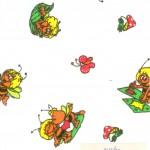 Фланель детская. Рис. 157-1п. Фото