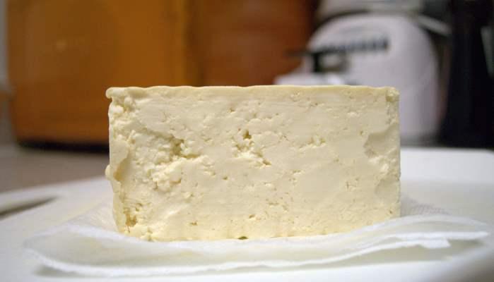 Изготовление ткани из необычных составляющих. Сыр тофу