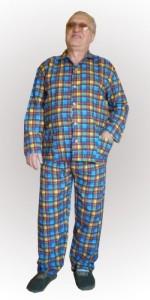 Пижама фланелевая, мужская