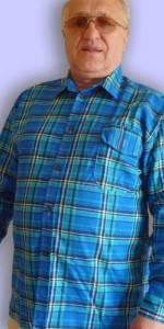 Сорочка мужская фланелевая