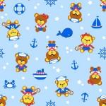 5093 Мишка-морячок гол