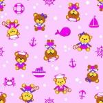 5093 Мишка-морячок роз