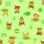 5093 Мишка-морячок зел