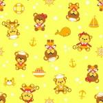 5093 Мишка-морячок жел