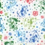 590-3 бз  Собачки голубые