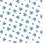 180-1 Голубые цветы