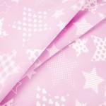 1683-2 Звезды розовый