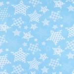 1683-7 Звезды бирюза
