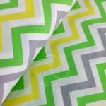 1797-4 Зигзаги трехцветные зеленый