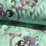 1805-2 Маленькие принцессы зеленый