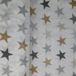 2179-1 Звезды Пэчворк бежевый
