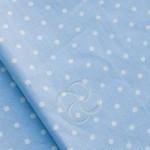 388-3 Горошек голубой