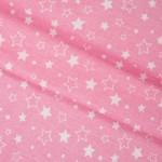 7174-32 Звезды розовые