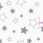 7860-1 Звездочки серые