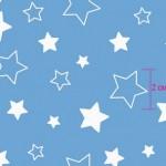 7957-1 Звездочки голубые