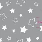 7957-5 звездочки серые