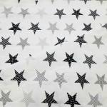 8104-5 Звезды Пэчворк серые