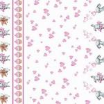 9412 Зайчата купон розовые