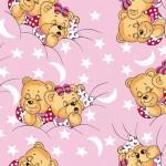 Cонные Мишки розовые